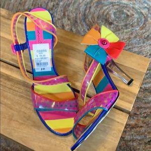 Betsey Johnson Betseyvilel Vivacious heels size 10
